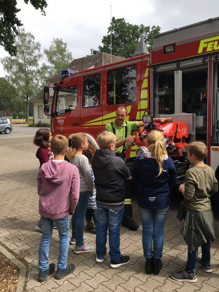 Zum dritten Mal fanden in Kölkebeck die Ferienspiele statt